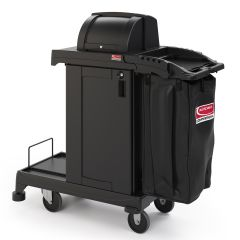 High-Security Cleaning Cart