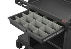 Lockable Slide Drawer with Dividers