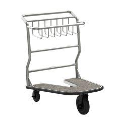 Nesting Luggage Cart with Carpet Platform