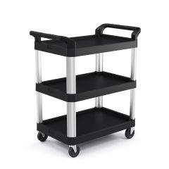3 Shelf Service Cart, Size Small