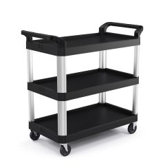 3 Shelf Service Cart, Size Medium
