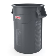 44 Gallon Injection Molded Utility Trash Can
