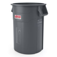 55 Gallon Injection Molded Utility Trash Can