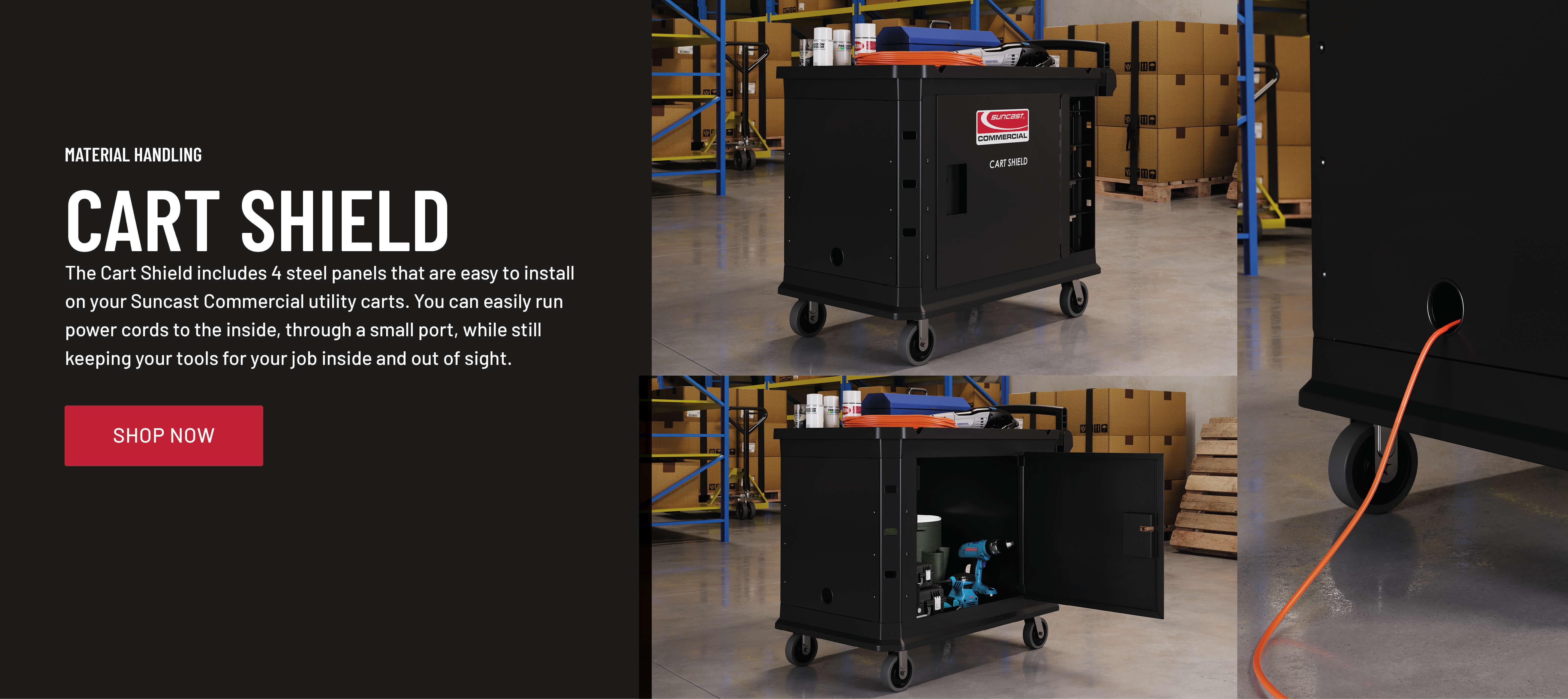 Cart Shield | Suncast Commercial Products